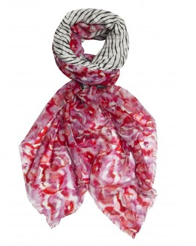 MIxed media modal & cashmere scarf