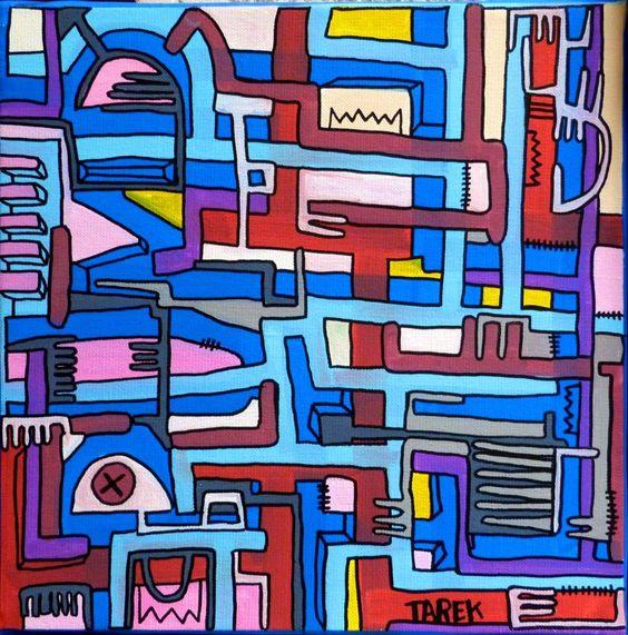 """Check out Planche originale de bande dessinée, galerie Napoléon  : Divers - Peinture originale par TAREK sans titr"""" Decal @Lockerz http://lockerz.com/d/23491069?ref=paris.tonkarmagazine"""