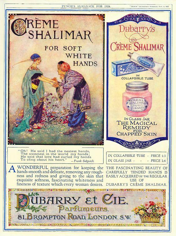 1923. Dubarry & Cie advert