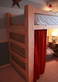 """It's the little things that make a house a home...: The """"Fort"""" Bed..."""