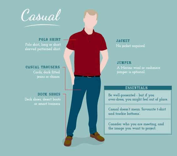 Casual Dress Code Guide