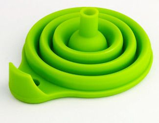 $10 Collapsible Silicone Funnel by RSVP International