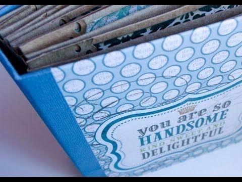 ▶ Mini álbum accordion spine - parte 1. Tutorial - YouTube