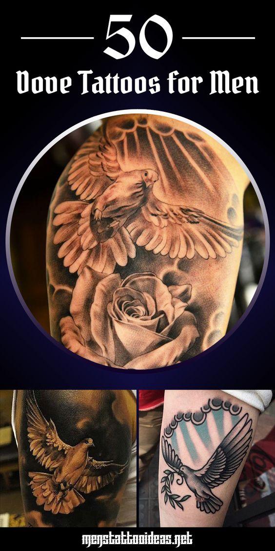 50 Beautiful Dove Tattoos