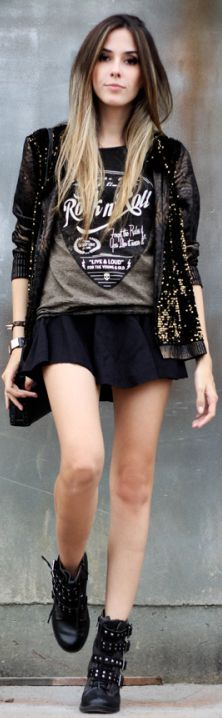 Look Du Jour: Rock'n'roll by Fashion Coolture