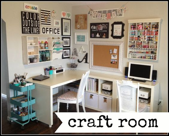 home happy home: Craft Room Tour                              …