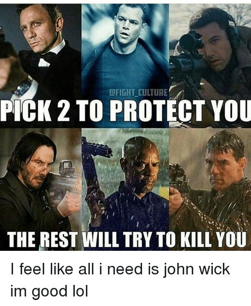 35 Super Dank John Wick Memes That Will Make Your Day Animated Times
