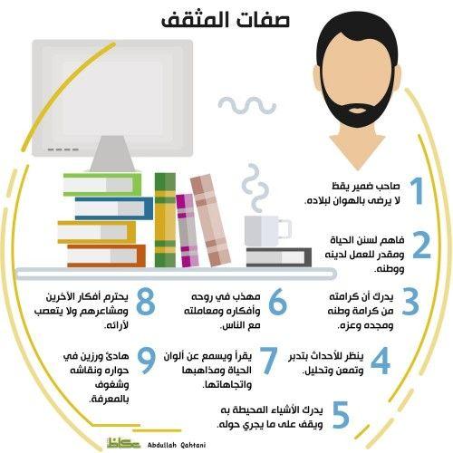 صفات المثقف Study Skills Instagram Posts Infographic