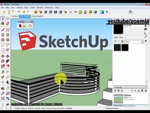 Sketchup Tips And Tricks For Follow Me Tool In Sketchup Youtube