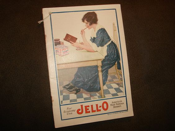 Vintage 1920 JELLO For Economy Use by PastPossessionsOnly on Etsy, $9.95