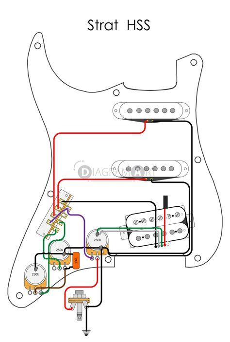 Fender American Deluxe Stratocaster Hss Wiring Diagram Stratocaster Guitar Guitar Pickups Electric Guitar