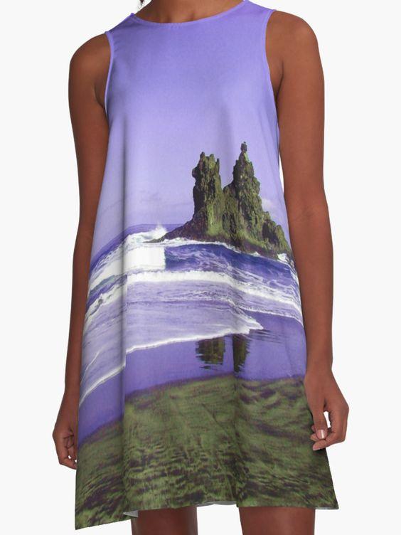 http://www.redbubble.com/people/pendientera/works/17731212-benijo-beach?p=a-line-dress