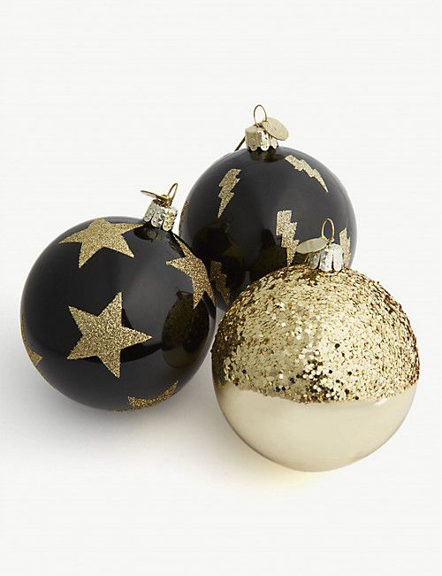 Luxury Christmas Decorations Baubles More Selfridges Uk Christmas Baubles Christmas Decorations Christmas