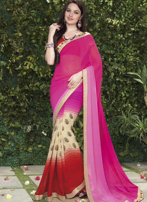 Wholesale Georgette Designer Sarees Collection -   Buy Now @ http://www.suratwholesaleshop.com/1110-Fascinating-Brown-Printed-Casual-Wear-Saree?view=catalog  #Suratwholesalesaree #Onlinewholesalesaree