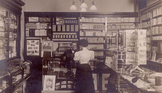 Kodak Camera Store, ca. 1910