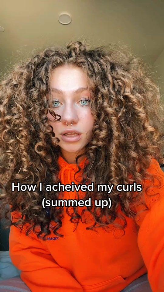 Jess Jessicaeid Tiktok Watch Jess S Newest Tiktok Videos Hair Styles Curly Hair Tips Curly Hair Inspiration