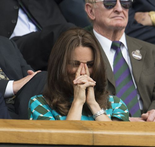 Kate at Wimbledon. July 6, 2014
