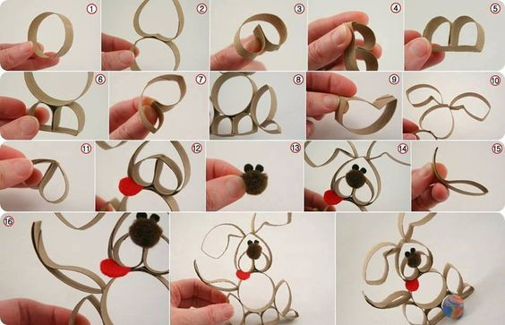 Paper Roll Puppy Craft!