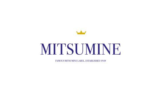 CLIENTE Mitsumine. Marchio per la casa di moda giapponese #grafica #design #logo #abbigliamento