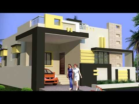 Latest Top Single Floor Home Elevations Small House Plans Floor Plans For Build Y Small House Elevation Design House Design Pictures Village House Design