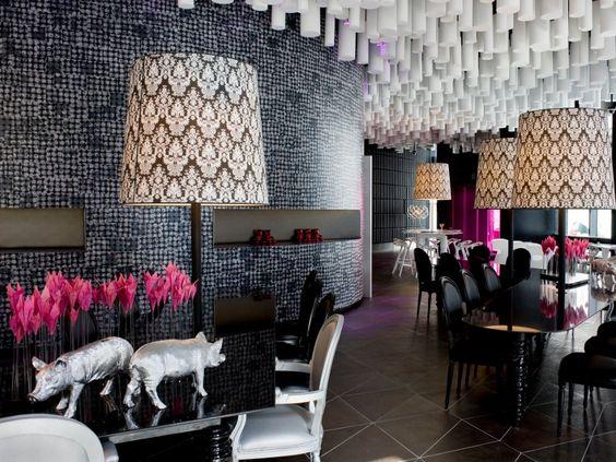 Lobby del hotel Barceló Raval