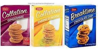 Coupons et Circulaires: .27¢ Biscuits Dare
