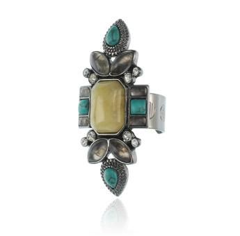 LOVE AT SUNSET RING - TURQUOISE