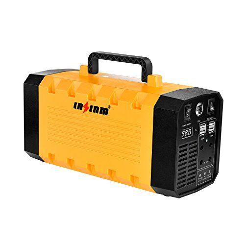Outdoor Generators 500w Portable Uninterruptible Power Supply Lnslnm Ups500ad Compact 288wh90000mah Generator Portable Generator Solar Power Diy Solar Panels