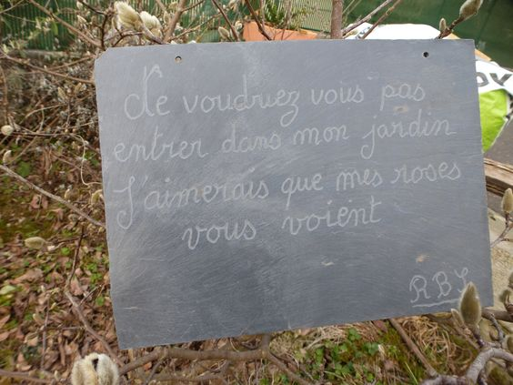 Citation au jardin citation jardin pinterest for Jardin et jardinage