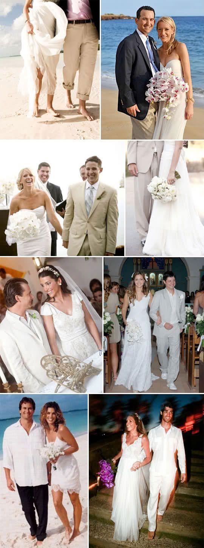 opções para noiva e noivo