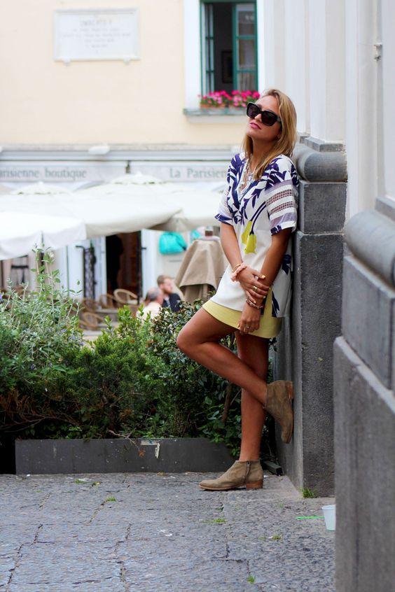 Soy Tendencia en Capri, fashion blog, outfit del dia www.soytendencia.com #capri #italia