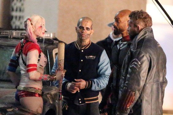 Jay Hernandez suicide-squad-set-photos-show-harley-quinn-and-deadshot-getting-up-close-and-persona-400683:
