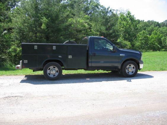 2005 Ford F-350 Utility Truck $5,000.00