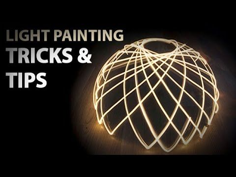 How to light paint? ! TUTO ! Lightpainting photography tricks (HD) - YouTube