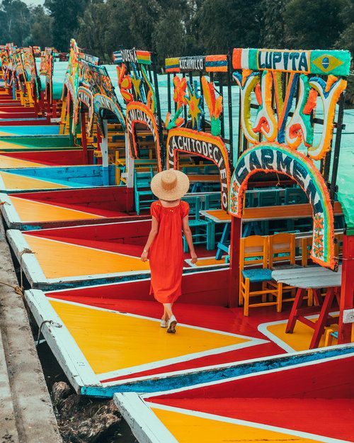 The Most Instagrammable Spots In Mexico City Ready Set Jet Set Mexico City Vacation Mexico City Travel Xochimilco