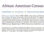 African American Genealogy - Ancestry and Historical Records | FamilySearch.org
