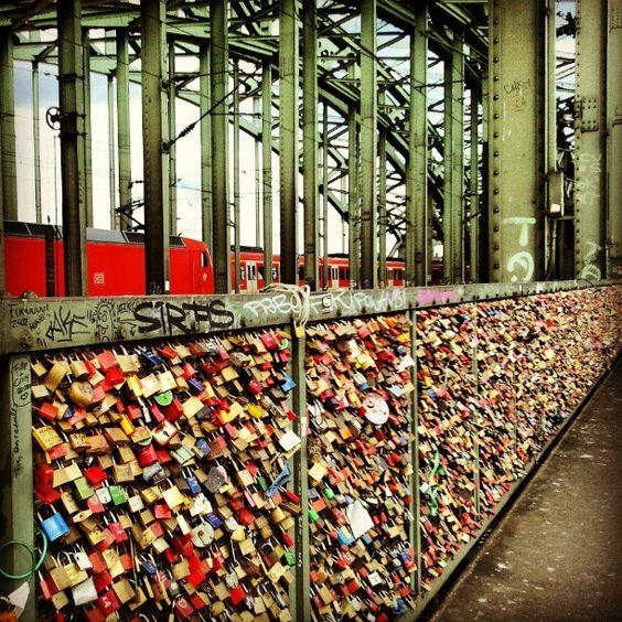 Hohenzollernbrücke, Köln / Cologne
