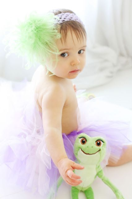 Eva's Princess and the Frog Birthday Portraits|The Magical Day Baby Blog | A Disney Fan Site for Parents