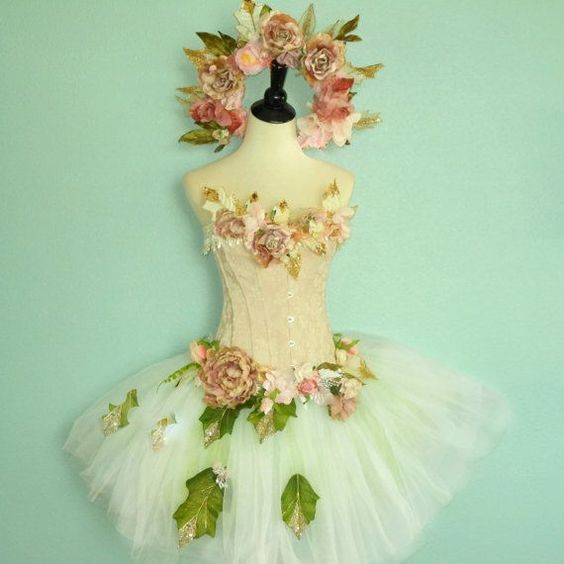 Flower Fairy - Pink Toddler Fairy Costume size 2 to 4 - or made to ...