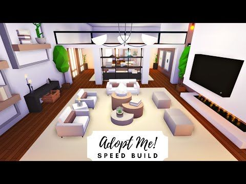 Party House Modern Rosy Home Part 1 Roblox Adopt Me Youtube Modern House Futuristic Home Home Roblox