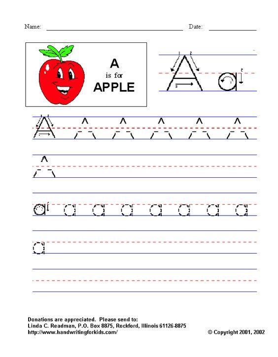 Letter I Worksheets For Kindergarten | Letters | Pinterest ...