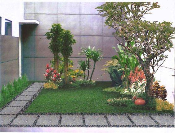 diseño minimalista jardin interior   inspiración de diseño de interiores