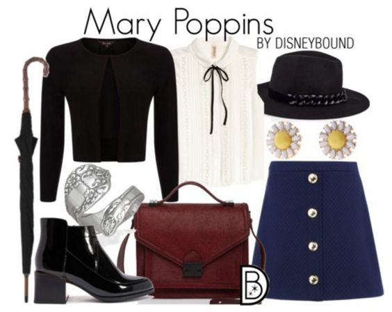 Happy Anniversary to Mary Poppins, who is practically perfect in every way! Get the look!