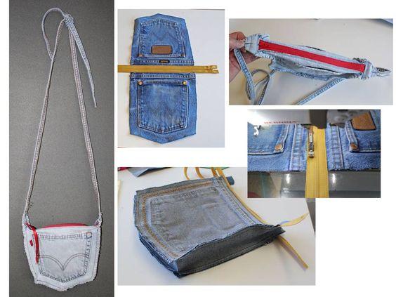 bolcita con bolsas traseras de jeans :)