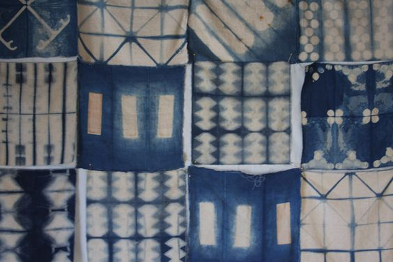 indigo + tie-dye + pattern = I'm in love!
