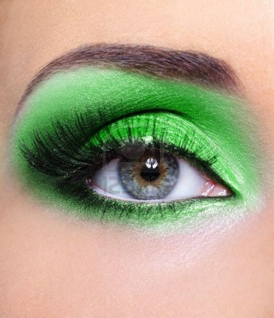 Awesome Green Eyeshadow #hair #nails #makeup #beauty #tips