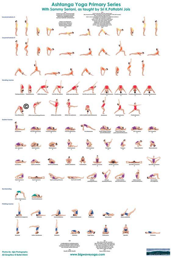 Ashtanga Primary Series Comes To Life In Color Big Wave Yoga Maui