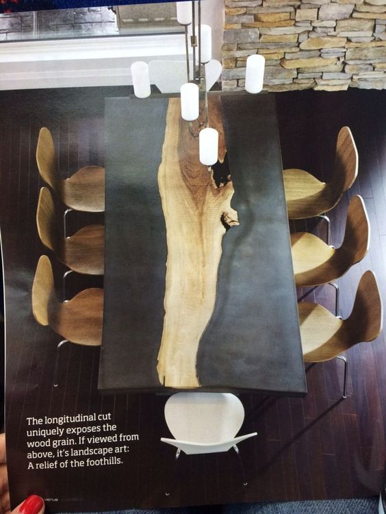 cement and wood table - Google Search