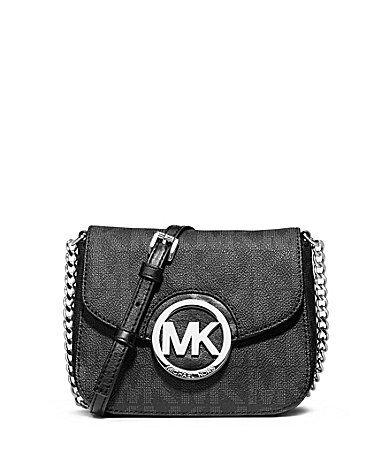 MICHAEL Michael Kors Fulton Signature Small Chain Strap CrossBody Bag #Dillards