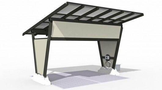 isola, a portable solar-powered charging station for electric vehicles, is about to make its debut in North America.